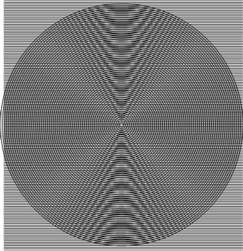 moire pattern grid moir 233 conic sections