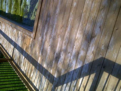 cedar deck stain failure sand  strip painting diy
