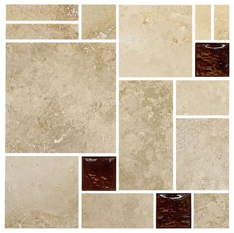 Mosaic Tile Backsplash Travertine Brown Glass Mosaic Kitchen Backsplash Tile 12