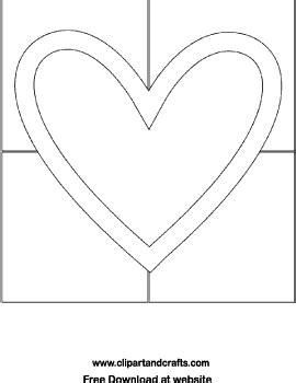 heart pattern block templates heart coloring page valentine quilt block or stained
