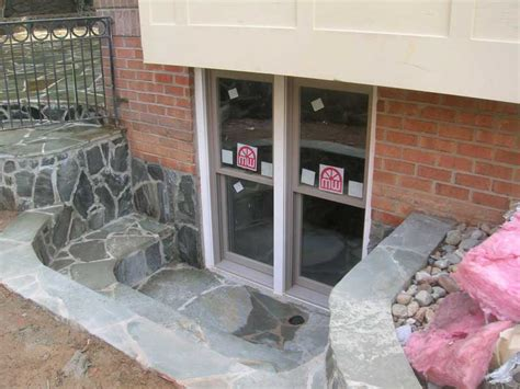 basement walk out doors egress window and basement walk out basement pinterest