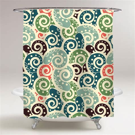 paisley pattern curtains abstract paisley pattern bathroom shower curtain
