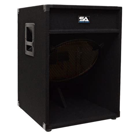 Speaker Subwoofer 18 seismic audio 18 inch pa speaker box subwoofer cabinet no woofers sub ebay