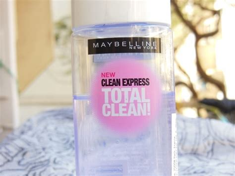Maybelline Total Clean Remover removal express maybelline clean express total clean