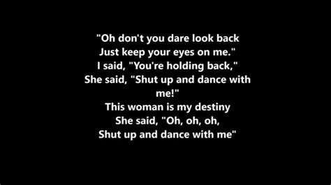 find the shut up and dance with me songs shut up and dance lyrics walk the moon youtube