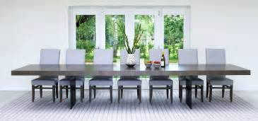 Extra Large Dining Tables. Wide Oak & Walnut Extending Dining Tables