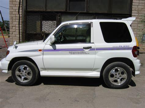 pajero mitsubishi 1998 1998 mitsubishi pajero io pictures gasoline automatic