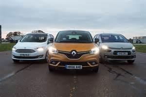 Citroen Renault Renault Scenic Vs Citroen C4 Picasso Vs Ford C Max