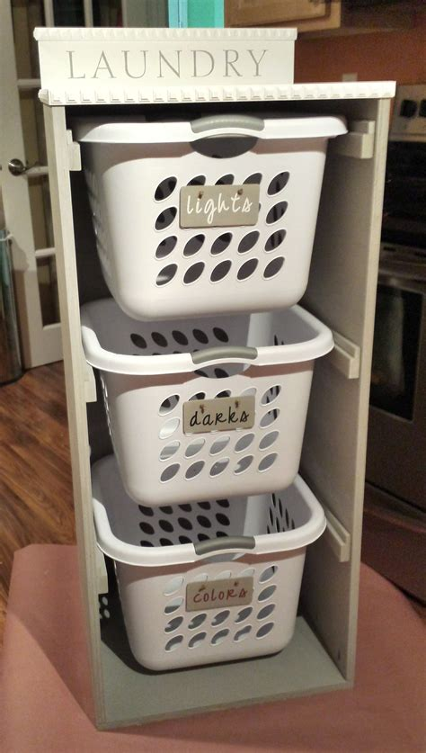 White Laundry Basket Dresser by White Brook Laundry Basket Dresser Diy Projects