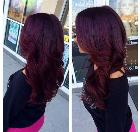 reddish purple hair color obsessed with this purple hair color weaves