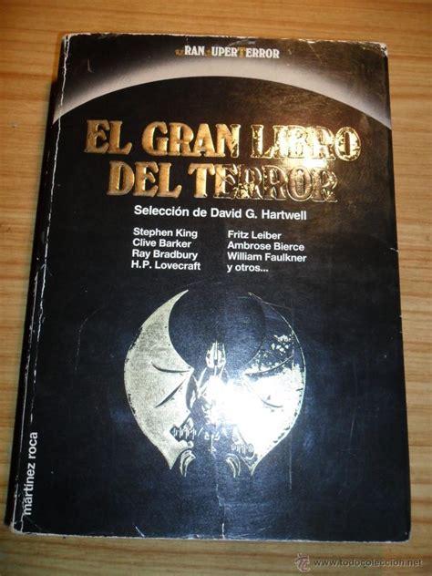 libro el gran miedo el gran libro del terror stephen king clive b comprar libros de terror misterio y polic 237 aco