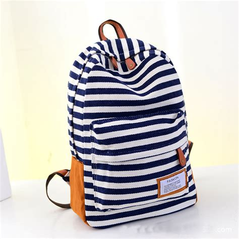 Ransel Fashion Motif Combinasi Backpack 2016 new design fashion canvas backpacks preppy style school bags for