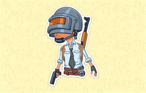 Sticker Gamer Pubg Vk Stickers Pubg For Free Vk Stickers Pubg