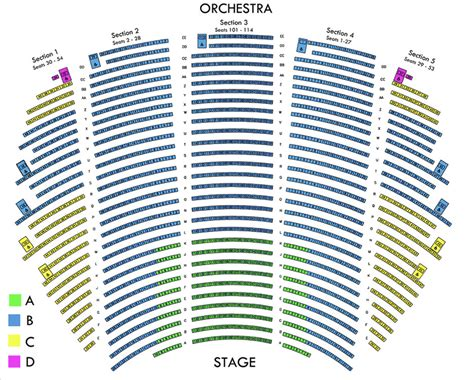segerstrom seating chart segerstrom concert seating capacity brokeasshome