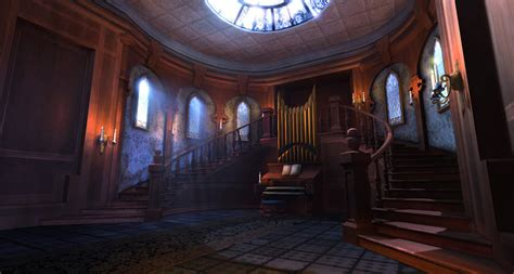 Haunted House Interior by The Haunted Mansion By Shogun 3d On Deviantart