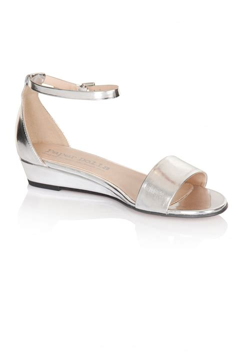 silver sandal wedges outlet paper dolls silver wedge sandals outlet