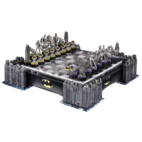 Chess Sets holy chess game batman deluxe batman chess set from
