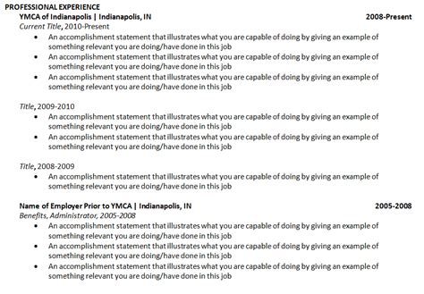 exle resume best resume format for hopper