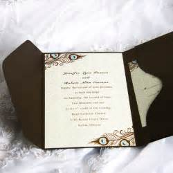 wedding invitations brown wedding invitations