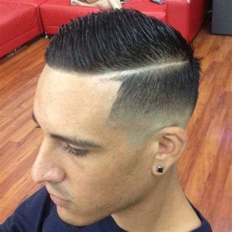 Cute Boys Hair Cut Lined | side part razor line dress the part man pinterest signs