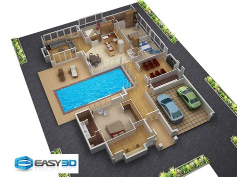 free 3d floor plans small spaces home beauty ideas 3d house plan with clear