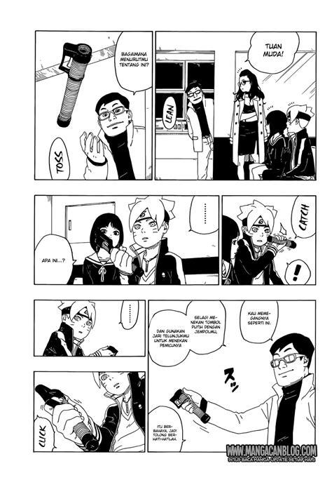 boruto ch 18 boruto chapter 18 otakuindo