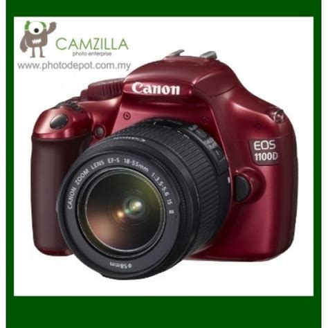 canon eos 1100d digital slr ef s 18 55mm f