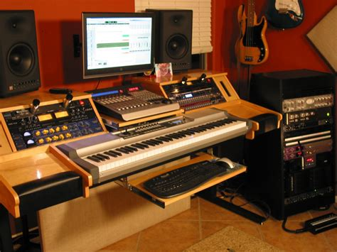 Build Your Own Studio Desk by Building A Rack For Synths Gearslutz Pro Audio Community
