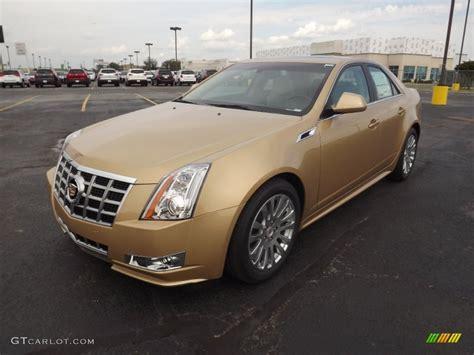 Metallic In The Summer by 2013 Summer Gold Metallic Cadillac Cts 3 6 Sedan 71634025