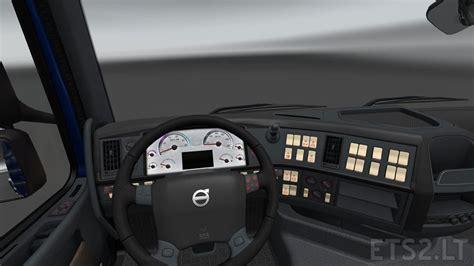 volvo truck dashboard volvo dashboard ets 2 mods