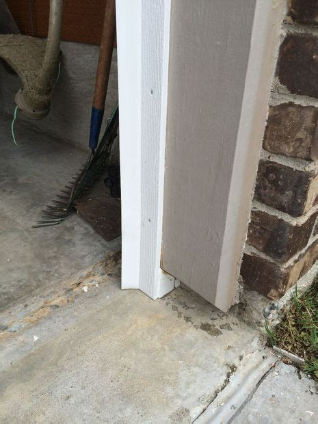 garage door base seal rot and rodent proof garage door seal with pvc and