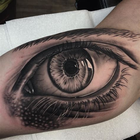 tattoo design eye biceps design best ideas gallery