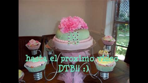 Chandelier Bases Base Para Pastel Y Cup Cakes Youtube