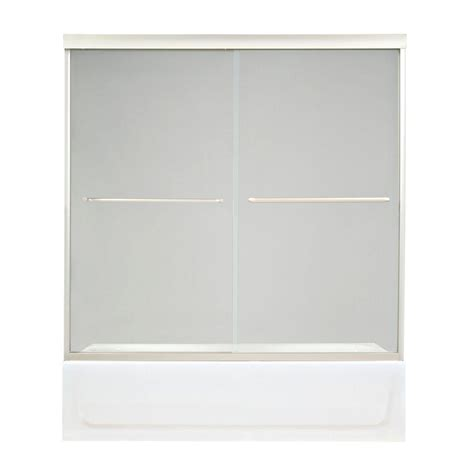 Maax Shower Doors Frameless Maax Shower Enclosures Tonik 59 1 2 In X 57 3 8 In Frameless