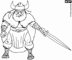vikings coloring pages printable games