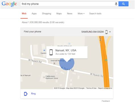 find my android phone on the computer quot find my phone quot to locate your android device