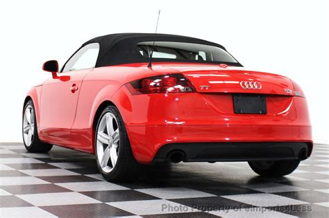 Navi Audi Tt by 2011 Used Audi Tt Roadster 2 0t Quattro Awd Premium Plus