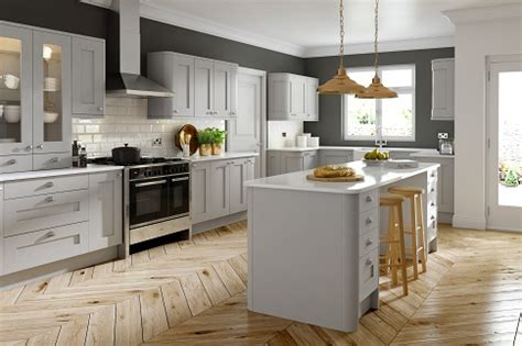 dove grey kitchen cabinets dove grey shaker grained icon kitchens