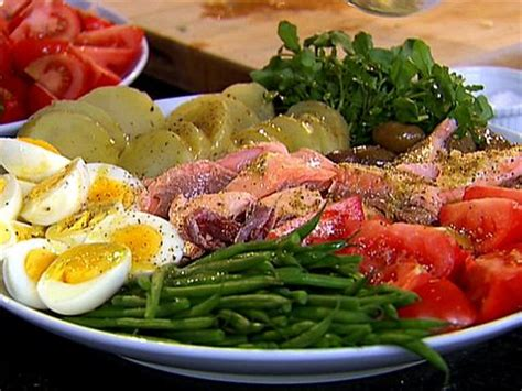 ina garten nicoise roasted salmon nicoise platter video food network