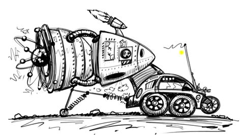 futuristic cars drawings draw cartoon cars of the future things to draw when you