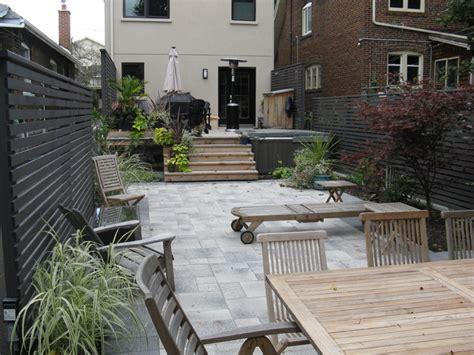 toronto backyard landscape project contemporary patio toronto by paradise views landscaping