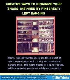 40 creative ways to organize your shoes 1000 images about inspired organization tricks