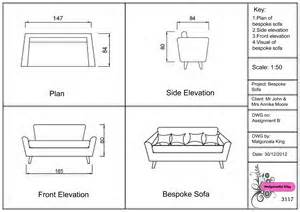 elevation of sofa plan and elevation of sofa memsaheb net