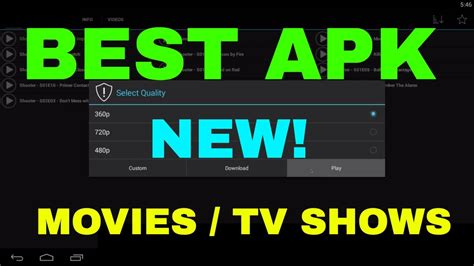 watchon apk top best apk august 2017 tv shows