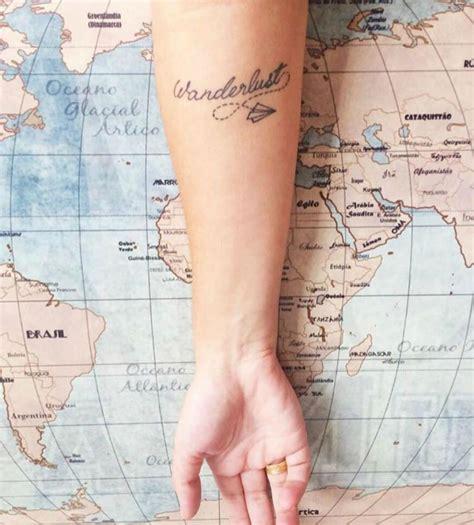 wanderlust tattoos die 46 beeindruckendsten travel tattoos f 252 r reises 252 chtige