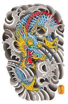 dragon tattoo north battleford japanese dragon half sleeve by clark north japanese