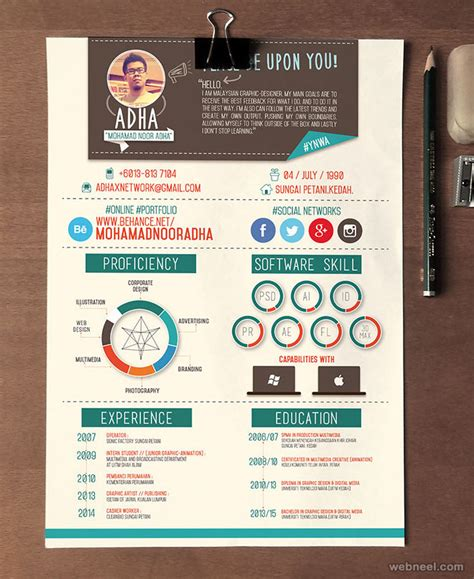 Resume For Designer by 50 Creative Resume Design Sles That Will Make You