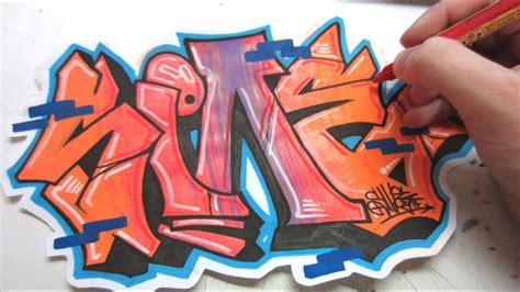 flip  rotate graffiti speed art youtube
