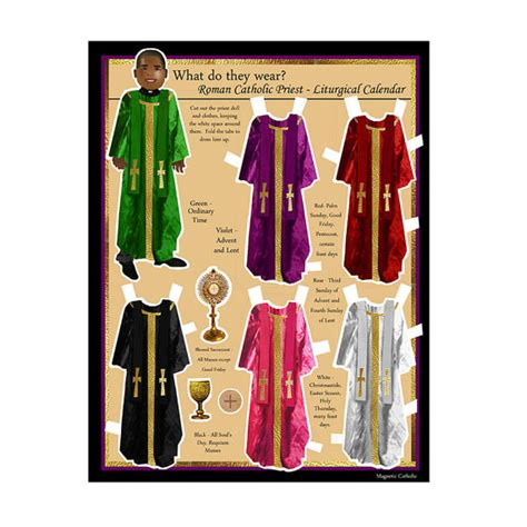 Do They Sell Calendars Catholic Priest What Do They Wear Liturgical Calendar