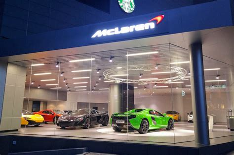 mclaren dealership lotus and mclaren the newest retail location for speed
